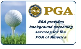 Screening Services for PGA of America